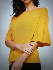 2 Hearts Jori bell sleeve top
