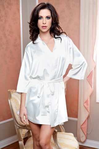 Satin Robe and Sash