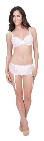 Pearl Skirted Lace Thong