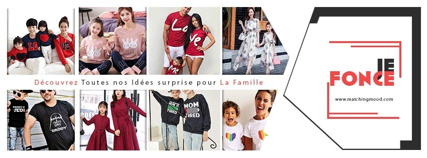 Collection Famille Assortie | MatchingMood