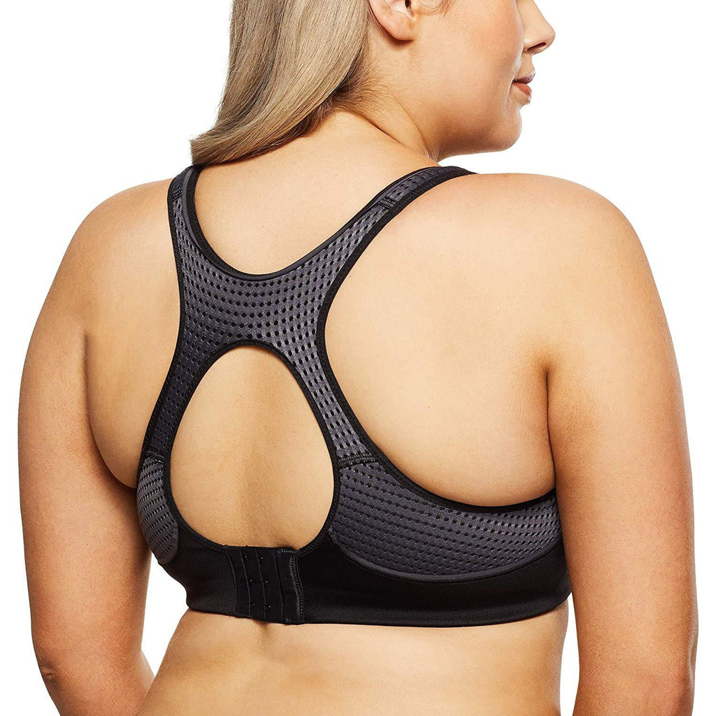 a2647d99da751 BERLEI Pro Elite Mesh Crop Sports Bra Support Factor 3