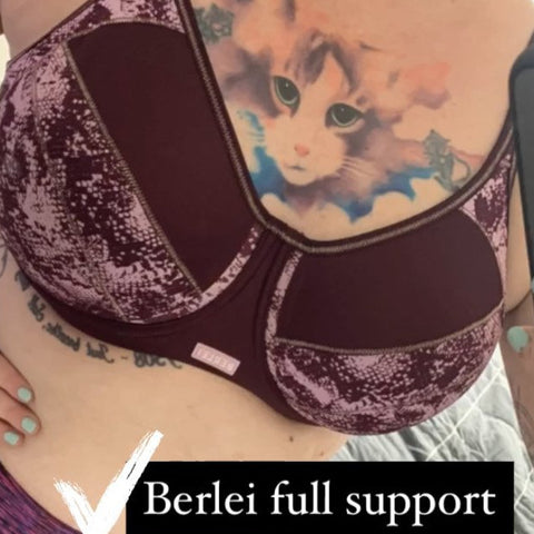 BERLEI Full Support Non-Padded Sports Bra Support Factor 2