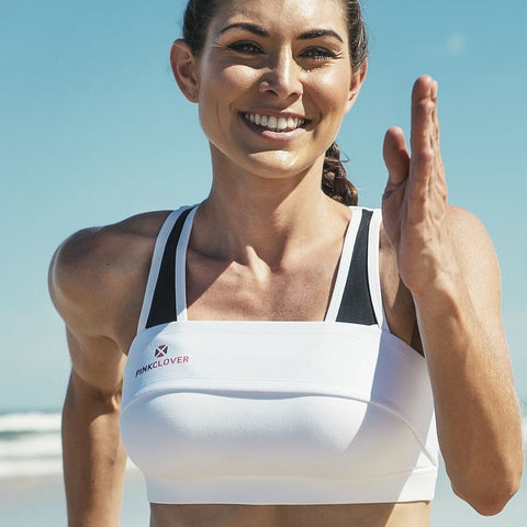 PINKCLOVER Breastband | Athletic Support Brand - SportsBra
