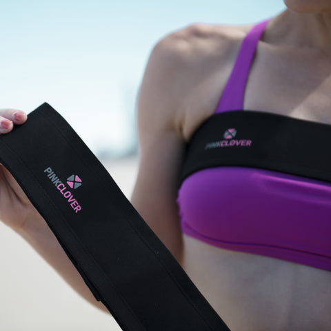 PINKCLOVER Breastband | Athletic Support Brand