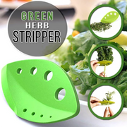 This Vegetable Leaf Stripper is perfect for you! Stripping leaves off your herbs' stems is no longer a chore.