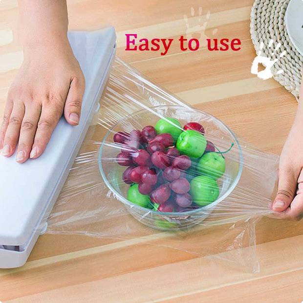 🔥60% OFF🔥Plastic Wrap Dispenser(BUY 2 FREE SHIPPING)