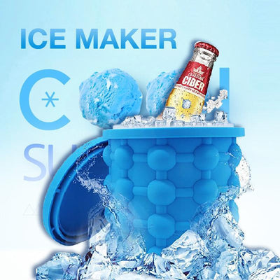 This is a manual ice maker that'll save you space in your freezer by replacing up to 10 traditional ice cube trays.