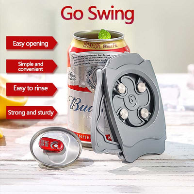 Our Topless Can Opener is a bar tool designed to remove the top of almost any can, which enhances your drinking experience and allows you to do things with the can that you never thought you could.