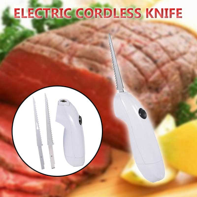 Electric Cordless Knife is lightweight and comfortable to hold