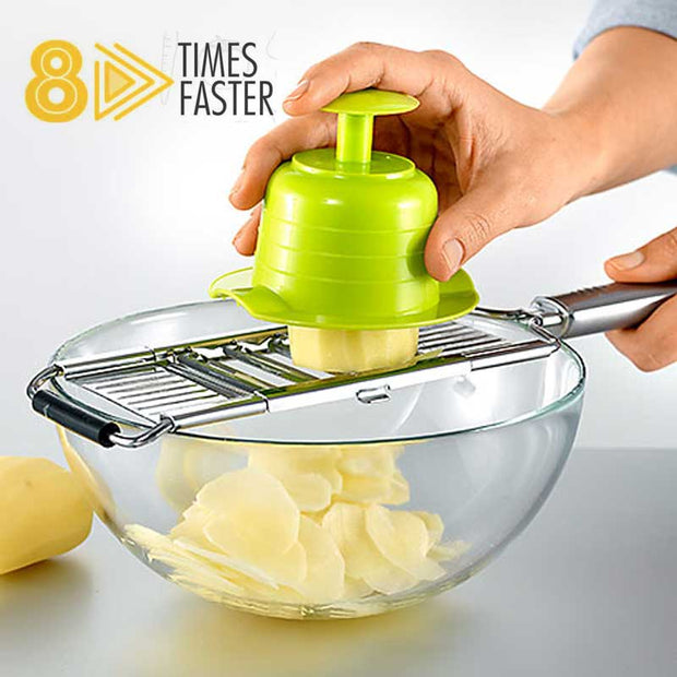 ⏳Five Star⏳Multi-Purpose Vegetable Slicer Cuts💥50% Off💥