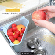 Triangle Storage Holder Multifunctional Drain Shelf Amazeshops