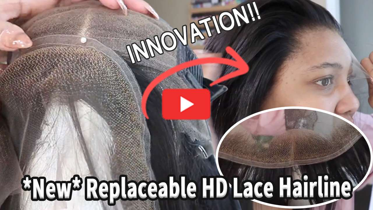 Hairvivi Replaceable HD Lace Hairline