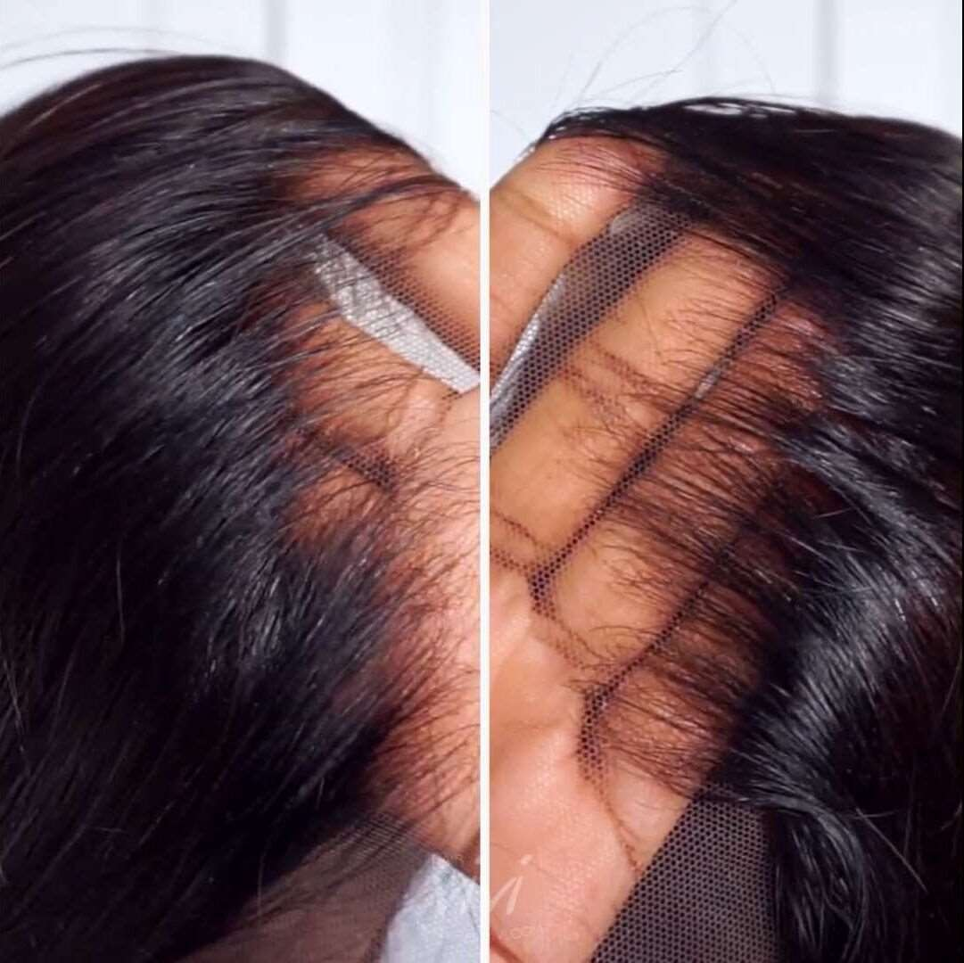 how to put on a lace wig