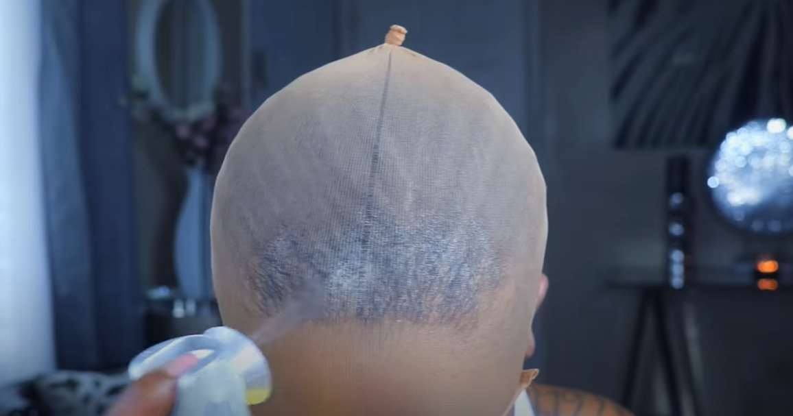 how to put on a wig cap