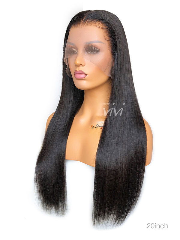 Best Full Lace Wig Human Hair Clean Bleached Hairline
