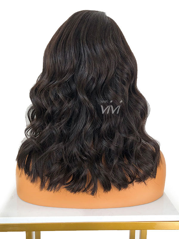 ISSA-Full Lace Bob Lace Wig Glueless Full Lace Bleached Knots
