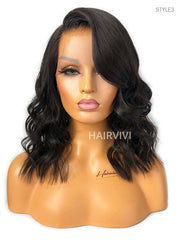 ISSA Bob Wigs That Look Real Pre-Plucked Pre-Bleached Lace Front HD Lace