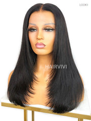 April HD Lace Natural Looking Wig Invisi-Scalp Frontal Wig