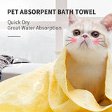 Pet Absorbent Bath Towel