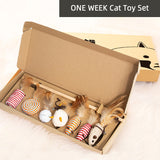 ONE WEEK cat toy set
