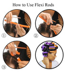 Flexible Curling Rods