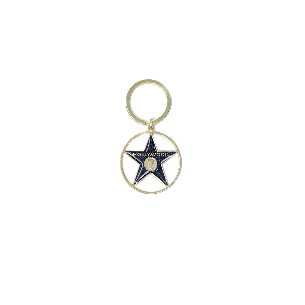Walk of Fame Star Color Keychain