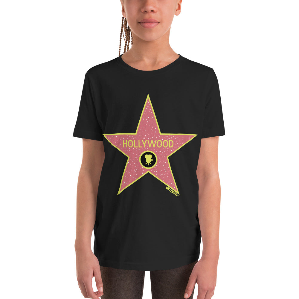 Youth Fit Official Hollywood Walk of Fame Shirt