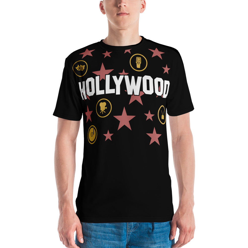 Hollywood Star Collage Shirt