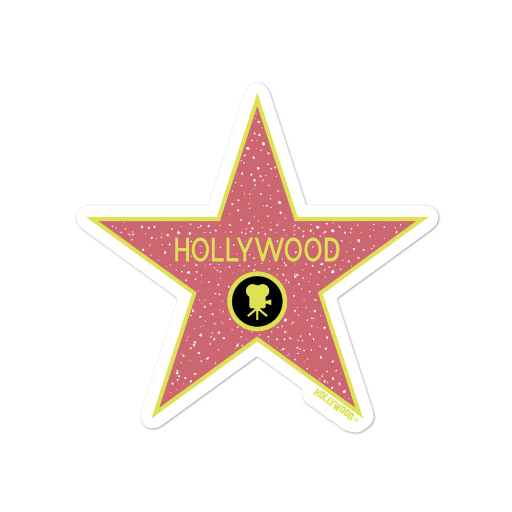 Hollywood Walk of Fame Sticker