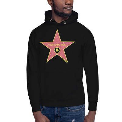 Custom Name Hollywood Walk of Fame Hoodie