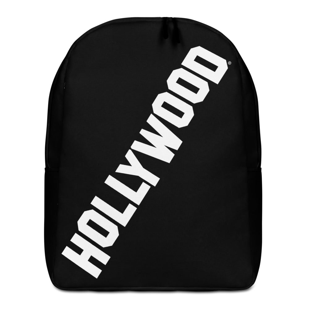 Black Hollywood Minimalist Backpack