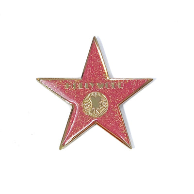 Hollywood Walk of Fame Star Color Magnet