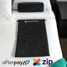 Load image into Gallery viewer, Muscle Mat Luxury Acupressure Mat With Pillow - Pre Order 03/12 - Xmas Guarantee