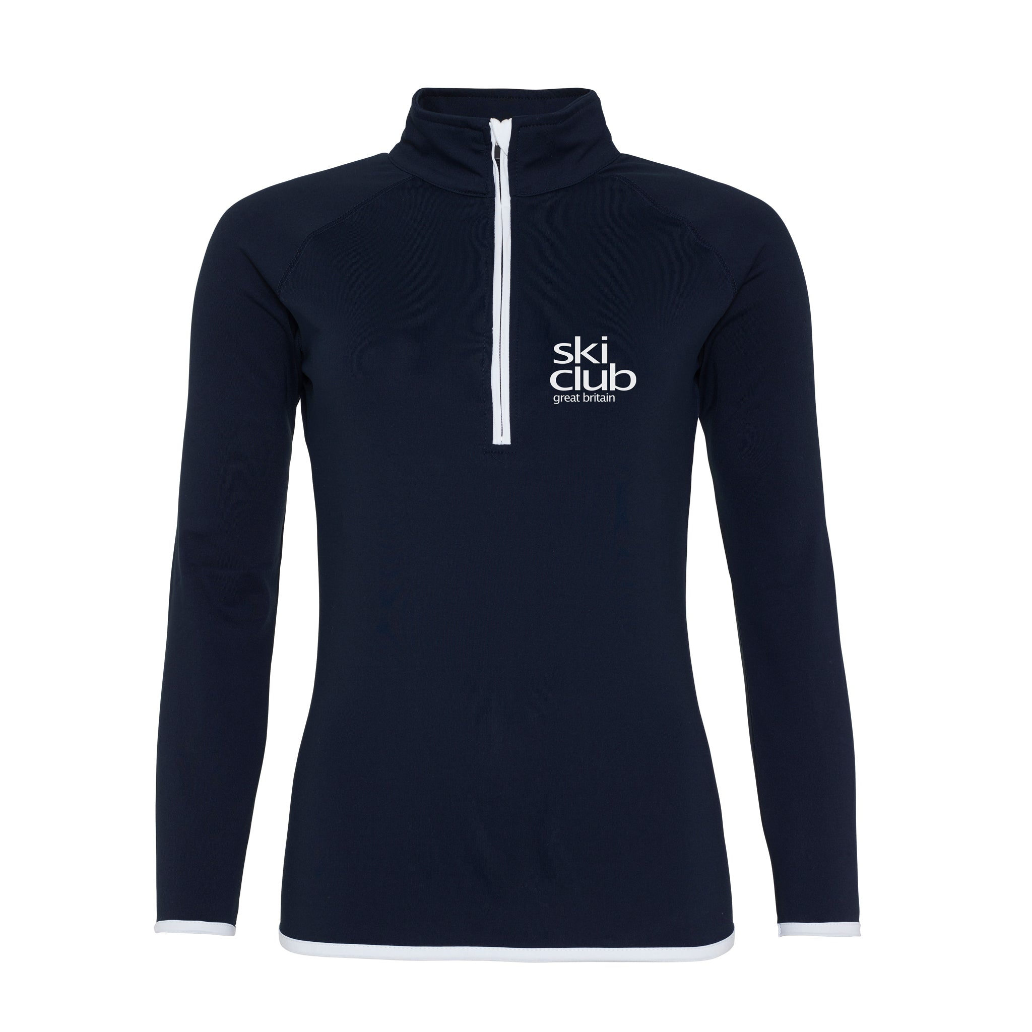 1/2 Zip Sweat - Women