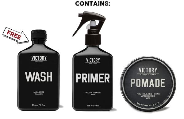 The Classic Gentleman's Grooming Kit + Haircut w/ Barber Greg