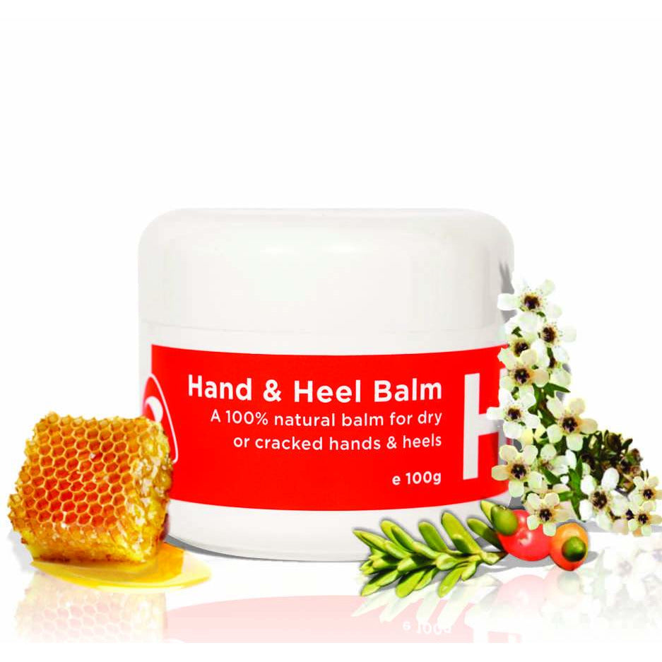 "Hand & Heel Balm - Savvy Touch Renowned for its incredible natural healing properties of dry, cracked damaged skin. Totara oil now lifts this already amazing product to a whole new level Anyone whose hands & heels need ""protection"" from the environment.  Sanitising, washing hands all vital to hygiene but incredibly drying & in some cases damaging. Hand & Heel in beeswax base offers both protection as a barrier & aids in natural healing of dry cracked damaged skin."