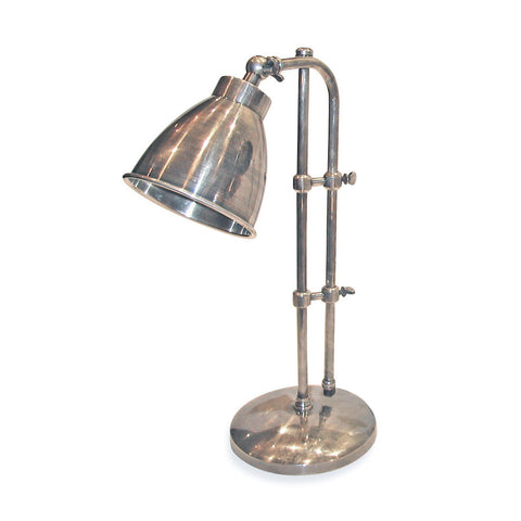 Industrial Adjustable Steel Desk Lamp