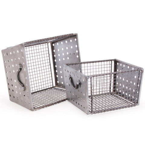 Industrial Metal Storage Bins