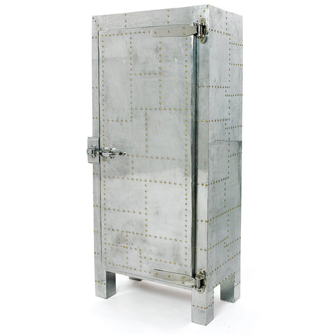 Riveted Steel Freezer Cabinet