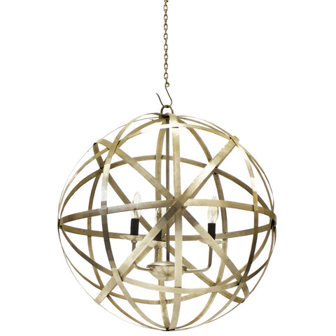 """Atomic Beauty"" Orb Chandelier"