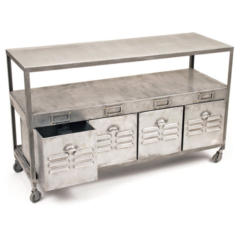 Steel Locker Console