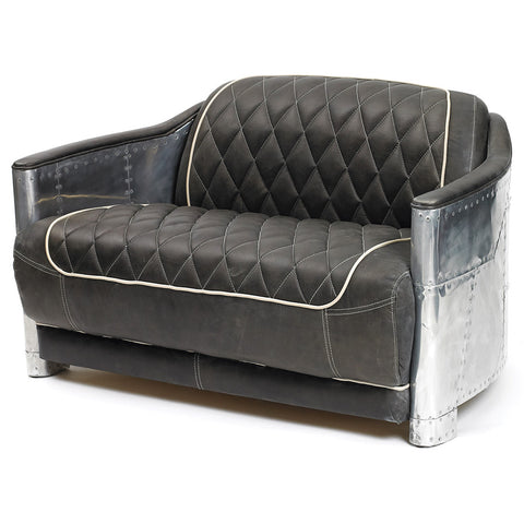 Brooklyn Hipster Leather Sofa