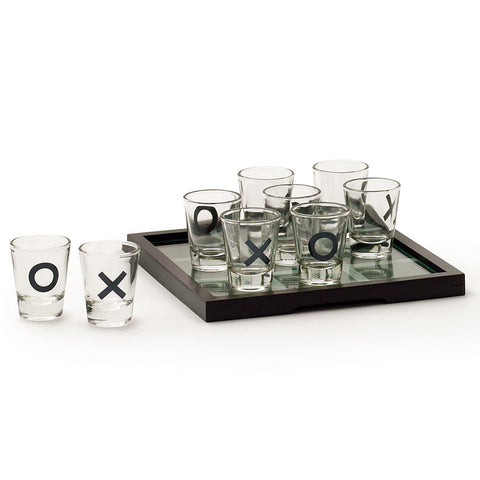 Tic Tac Toe Shot Glass Game