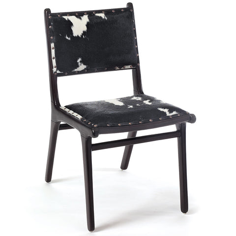 """Frontier Home"" Cowhide Accent Chair"