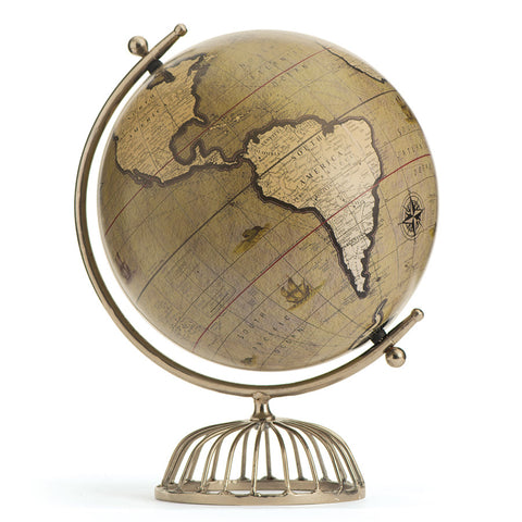 Polished Nickel Birdcage Globe