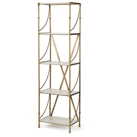 Iron & Marble Shelving