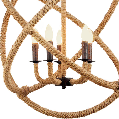 Orb Rope Chandelier