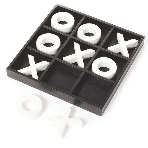 Large Wooden Tic Tac Toe