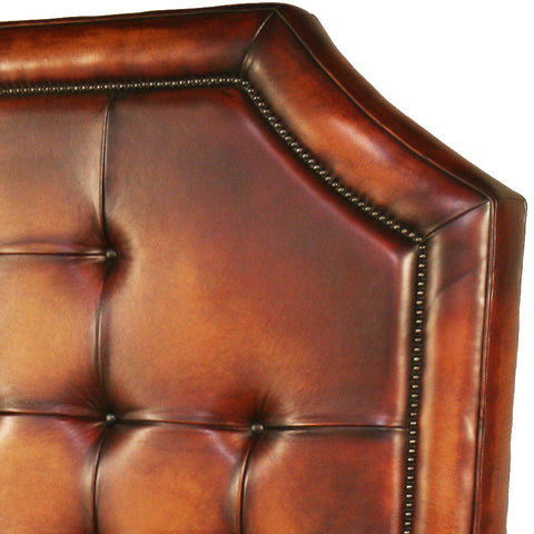 Bentley Leather Handmade Bed Frame