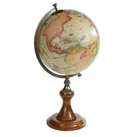 16th Century Antique Reproduction Globe